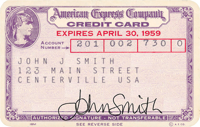 first american express