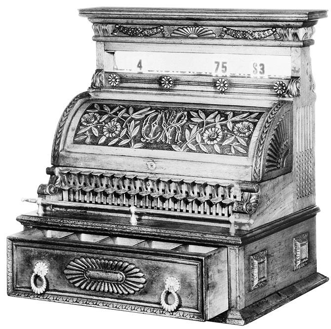 first cash register
