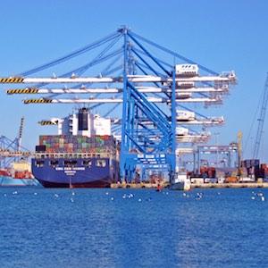 trade ships
