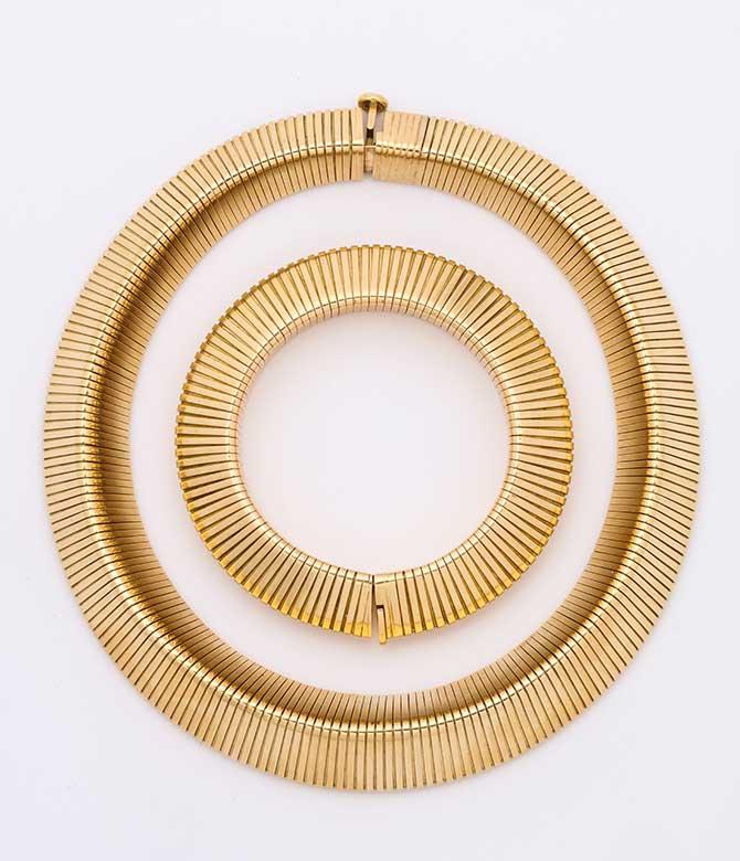 ALVR Cartier necklace and bracelet