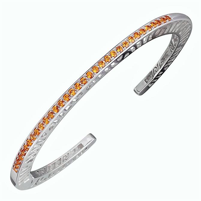Martha Seely citrine cuff bracelet