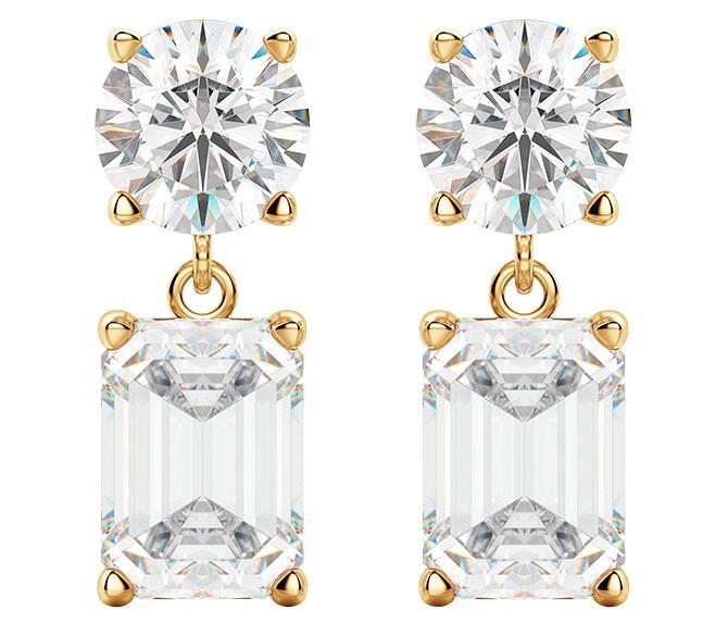 Diamond Nexus leto simulant earrings
