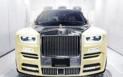 Drake Rolls Royce with Hearts On Fire ornament