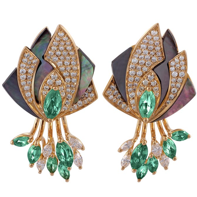 Ananya Miniature Mogra Edition earring jackets