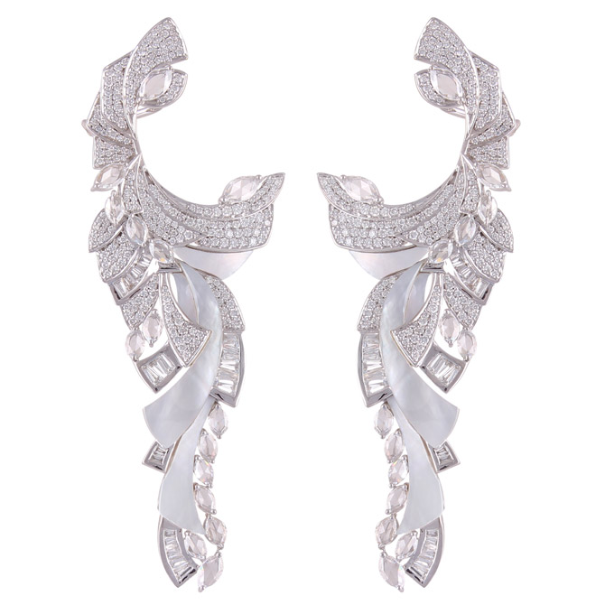 Ananya Mogra Aurora earrings