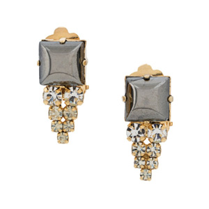 Farfetch Christian Dior earrings
