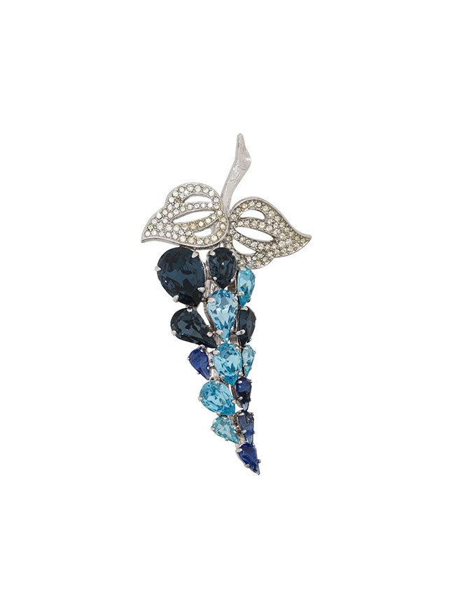 Farfetch x Susan Caplan grape brooch