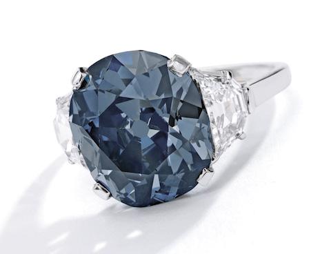 Indian Blue ring Sothebys