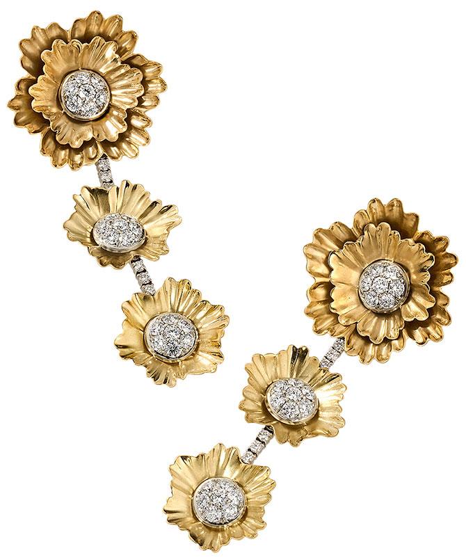 Irene Neuwirth superbloom diamond earrings