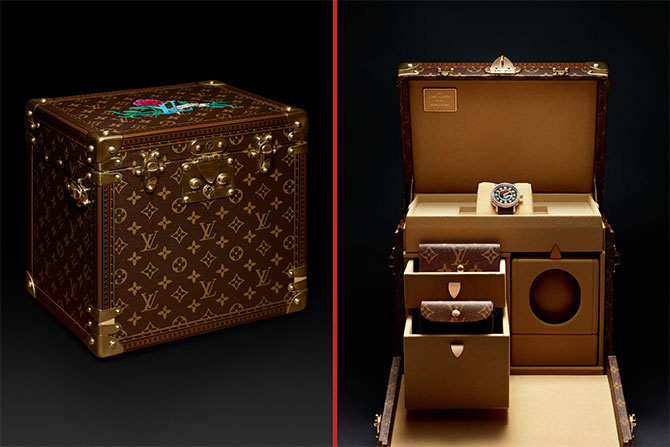 Louis Vuitton watch case