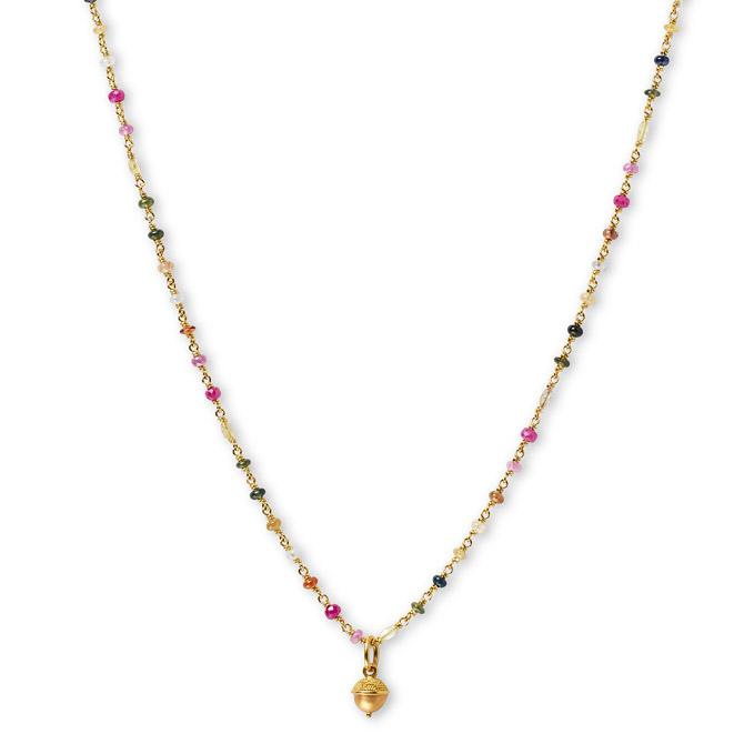 Reinstein Ross Isabella acorn necklace