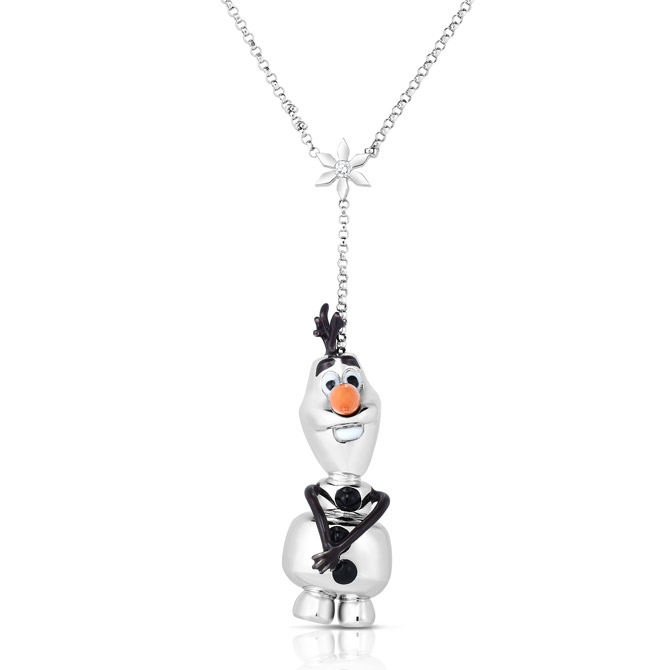Roberto Coin Frozen 2 Olaf necklace