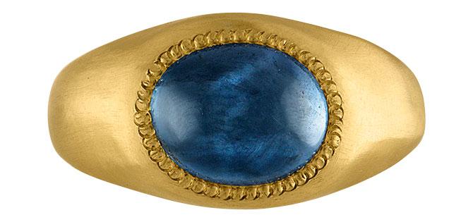 Prounis sapphire Roz ring