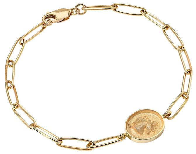 Retrouvai unicorn fantasy link bracelet