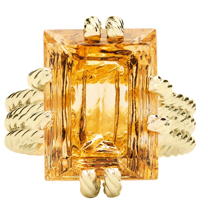 Rush Jewelry Design citrine ring