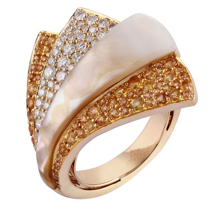 Ananya Mogra Demi Blossom ring