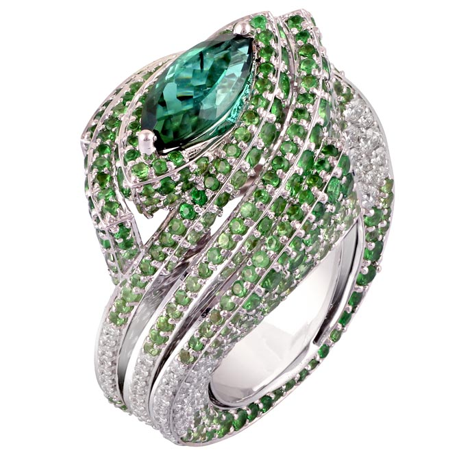 Ananya Mogra Enclave Ombre ring
