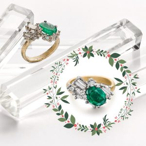 Ruth Tomlinson emerald ring