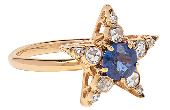 Selim Mouzannar istanbul sapphire ring