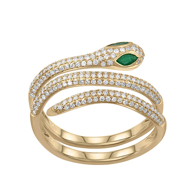 Serena Williams serpent ring
