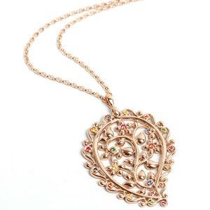 Tamara Comolli candy india dream pendant rose gold sapphires