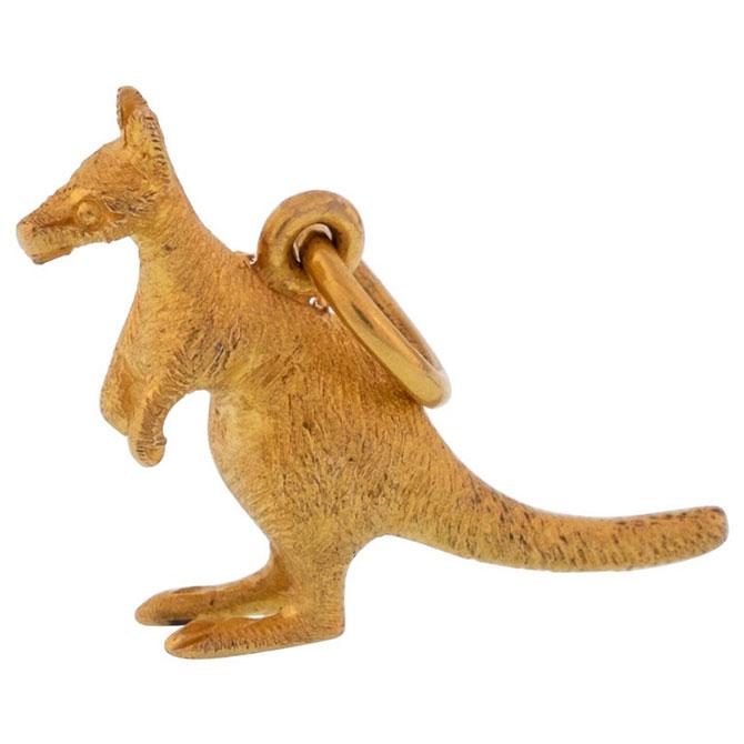 1st Dibs kangaroo charm