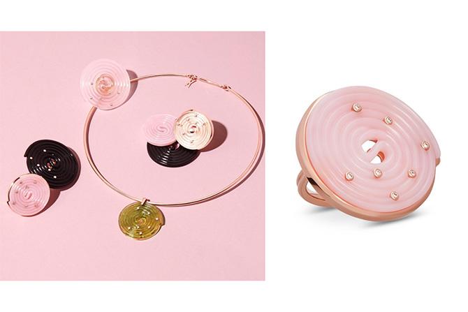 Alina Abegg licorice jewelry