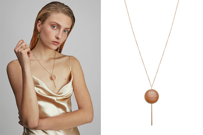Alina Abegg lollipop necklace