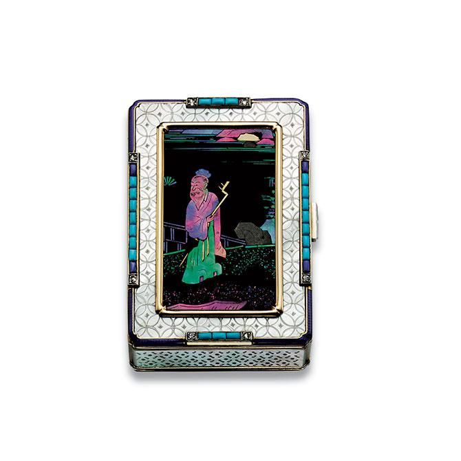 Cartier Art Deco vanity case