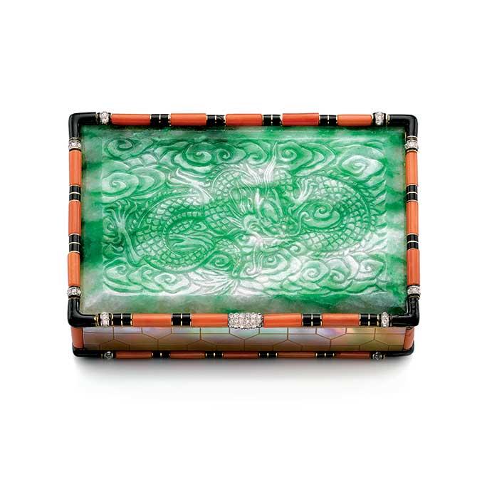 Cartier Jade vanity case