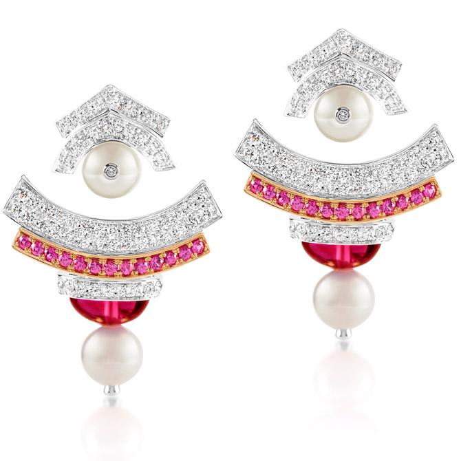 Ananya Celeste earring jackets