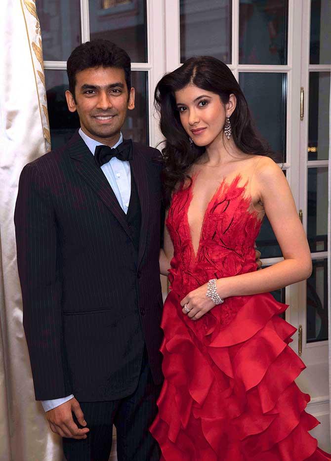 Harakh and Shanaya Kapoor