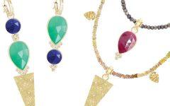 Nina Nguyen interchangeable necklace and earrings