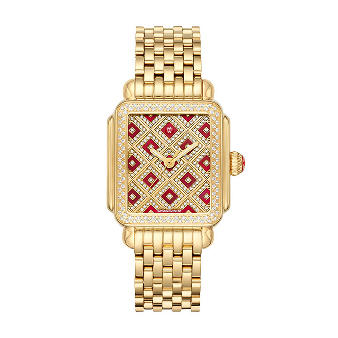 Michele deco chateau watch