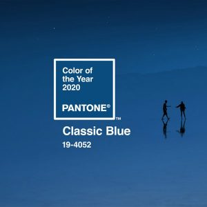Pantone Color of the Year 2020 Classic Blue