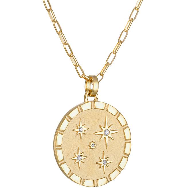 Pamela Zamore multi-star diamond pendant