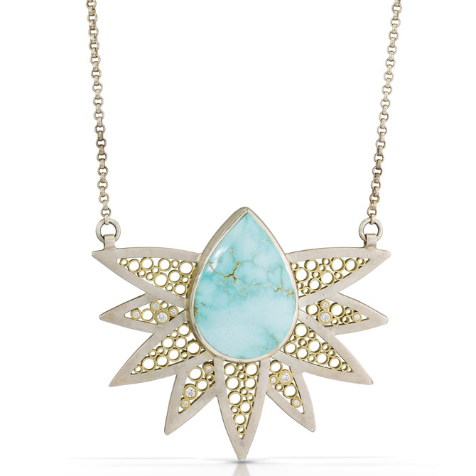 Belle Brooke Ray of Light pendant