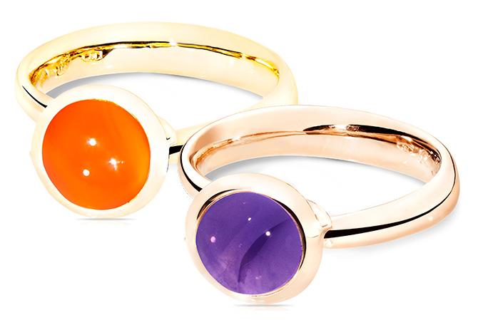 Tamara Comolli Bouton rings