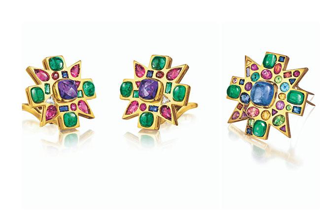 Verdura Byzantine pieces