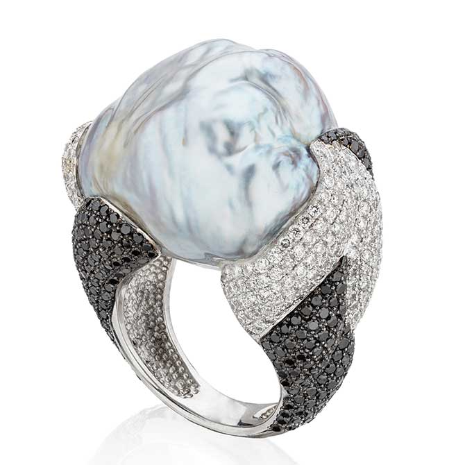 Yvel pearl ring