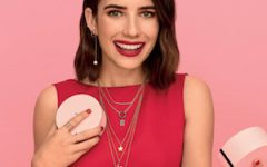 Emma Roberts for Tous