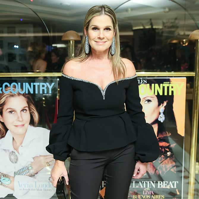 Aerin Lauder at Town and Country Jewelry awards