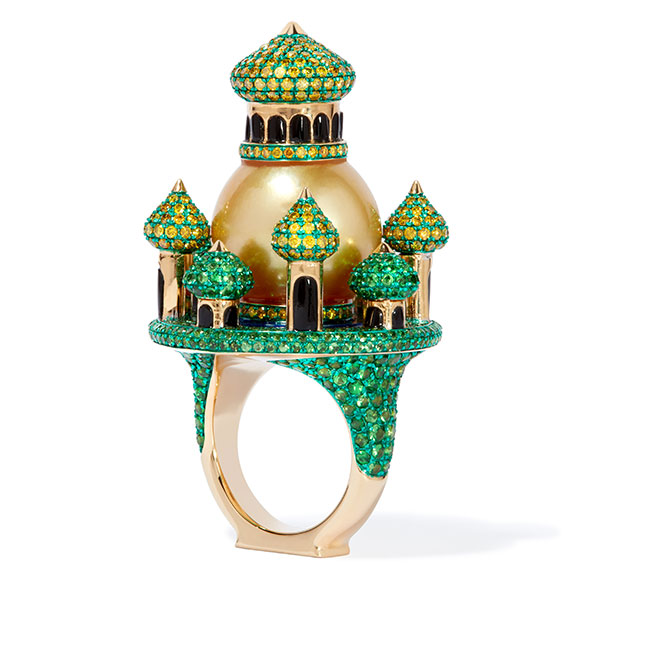 Annoushka Austy Lee ring green