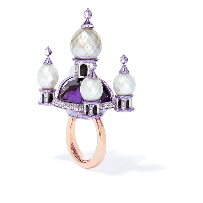 Annoushka Austy Lee ring purple