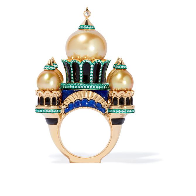 Annoushka Austy Lee ring yellow