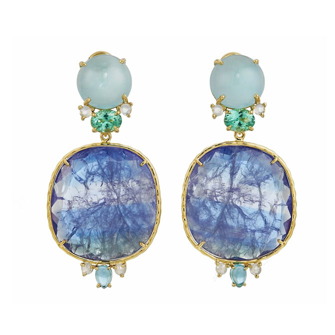 Daria de.Koning Waterfall earrings