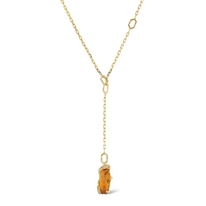 Debra Navarro Beatrice lariat necklace