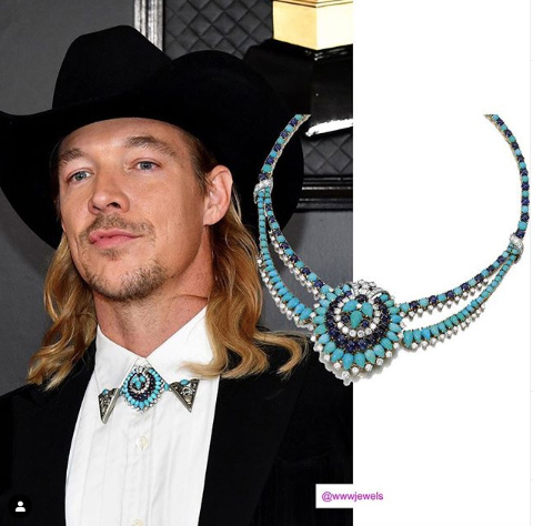 Grammy Awards 2020 Men S Jewelry Won The Night Jck