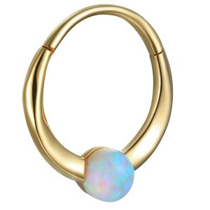 Pamela Love floating opal clicker