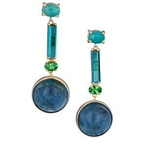 Alexis Barbeau Ocean Blue earrings